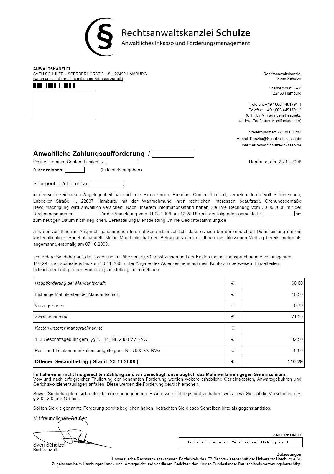 Abzocknewsblogspotcom Der Automatische Anwaltbeantworter Für Das